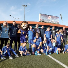 13.11.2018.., Zagreb - GNK Dinamo organizirao je prvi turnir Special Power League, za djecu s poteskocama u razvoju. Photo: Goran Stanzl/PIXSELL